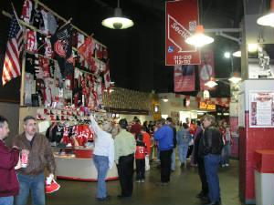 Joe Louis Arena Inside